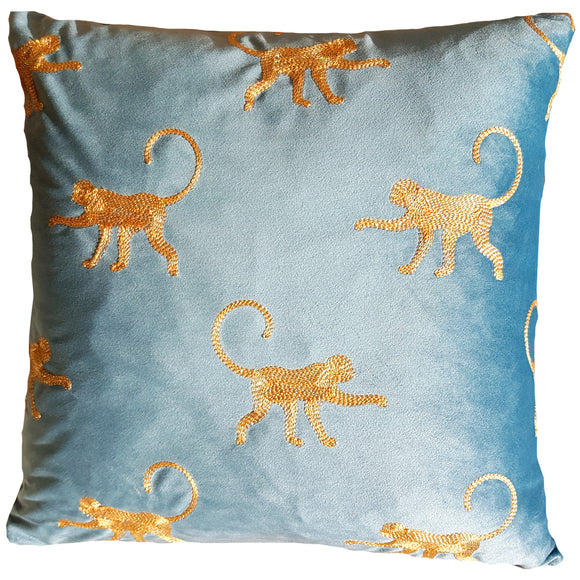 Monkey Safari Cushion
