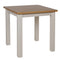 Canterbury Grey Fixed Top Table