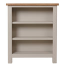 Canterbury Grey Small Wide Bookcase