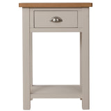 Canterbury Grey Telephone Table