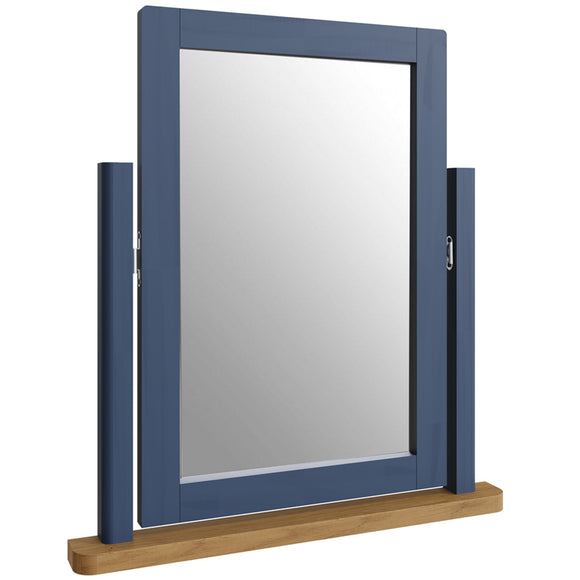 Canterbury Blue Dressing Table Mirror
