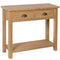 Canterbury Oak Console Table