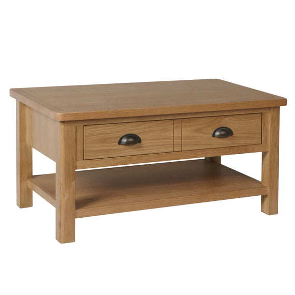 Canterbury Oak Large Coffee Table