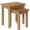 Canterbury Oak Nest of 2 Tables