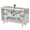 Rectangular Nickel Table Clock