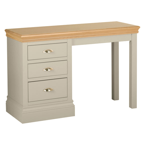 Eton Platinum Single Pedestal Dressing Table