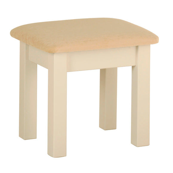 Eton Ivory Dressing Table Stool