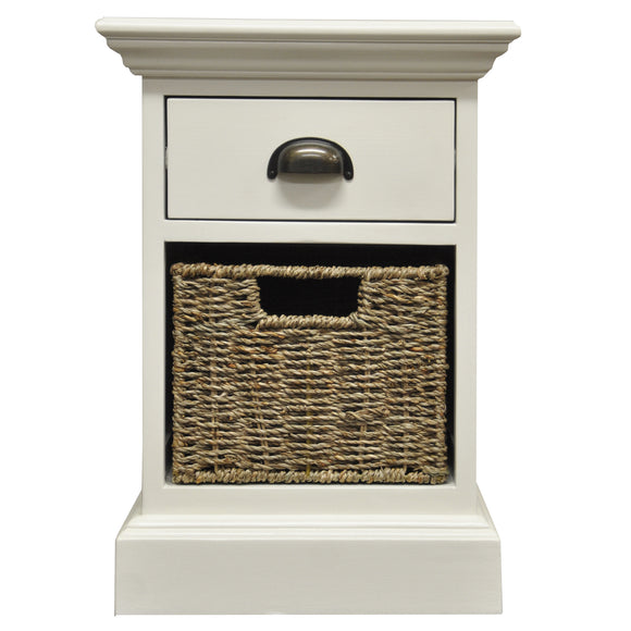 Lyndhurst 1 Drawer 1 Basket Unit