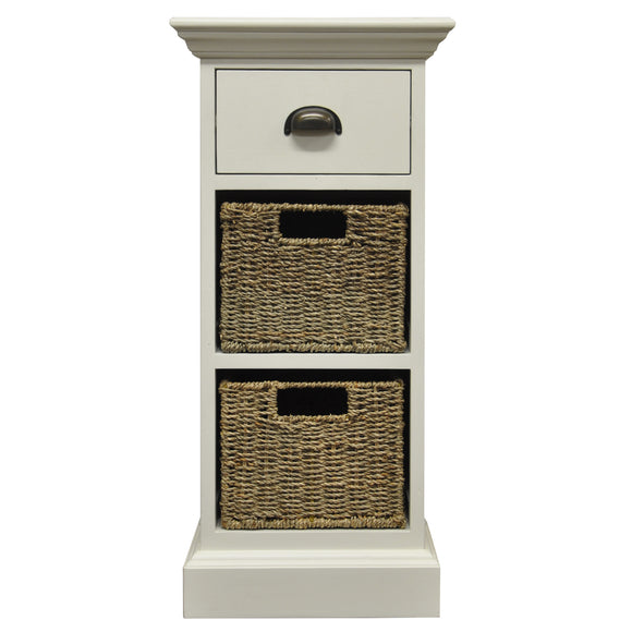 Lyndhurst 1 Drawer 2 Basket Unit