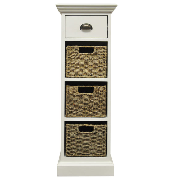 Lyndhurst 1 Drawer 3 Basket Unit