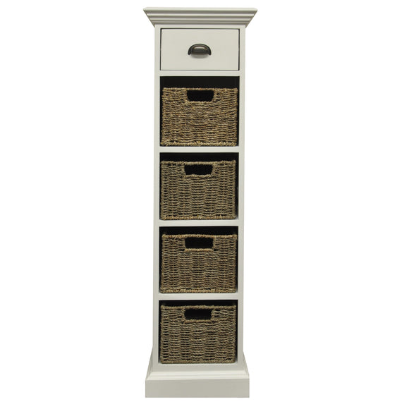 Lyndhurst 1 Drawer 4 Basket Unit