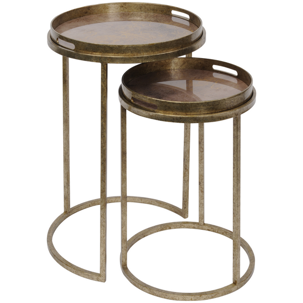 Atlas Set of 2 Side Tables