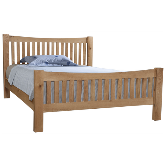 Oxford Oak Bed