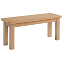 Oxford Oak 104cm Bench