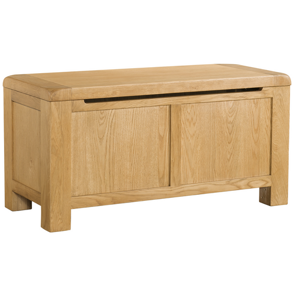 Sway Oak Blanket Box