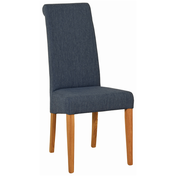 Blue Hampshire Fabric Chair