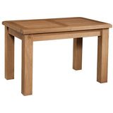Brockenhurst Oak Small Extending Dining Table 1 Leaf