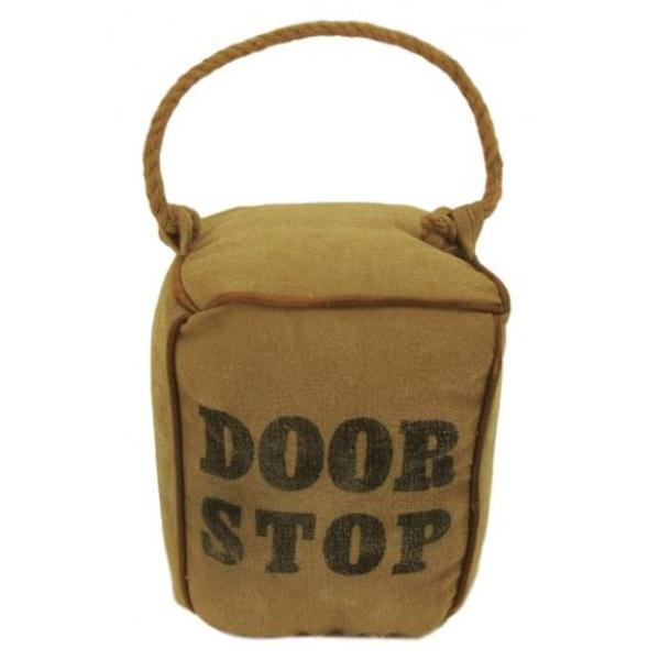 Canvas Square Doorstop