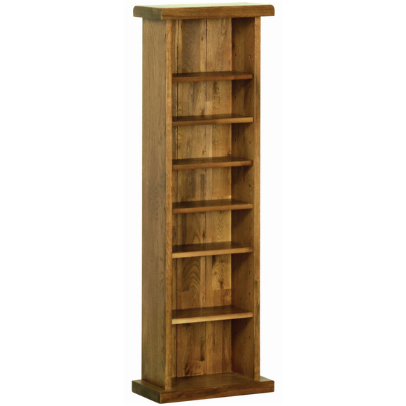 Petersfield Oak CD/DVD Rack