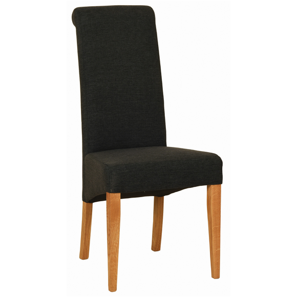 Charcoal Hampshire Fabric Chair