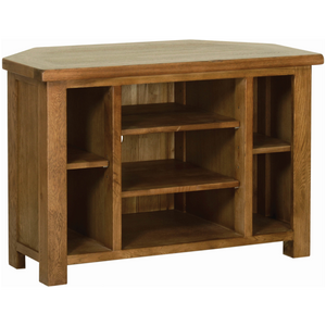 Petersfield Oak Corner TV Unit
