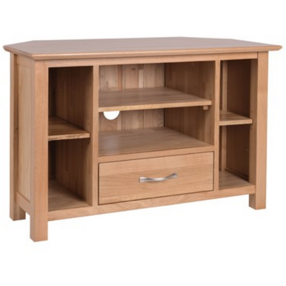 Hampshire Oak Corner TV Unit