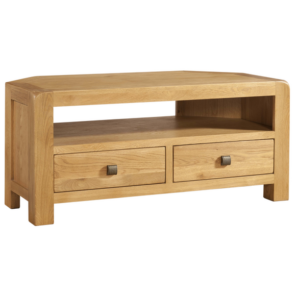 Sway Oak Corner TV Unit
