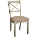 Eton Platinum Cross Back Dining Chair