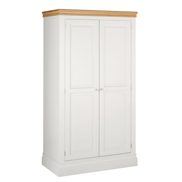 Eton White All Hanging Double Wardrobe