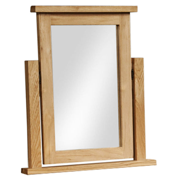 Oxford Oak Dressing Table Mirror