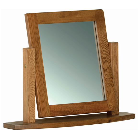 Petersfield Oak Dressing Table Mirror