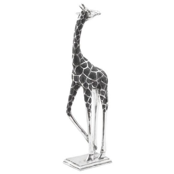 Silver Turning Giraffe