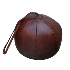 Leather Kettlebell Doorstop