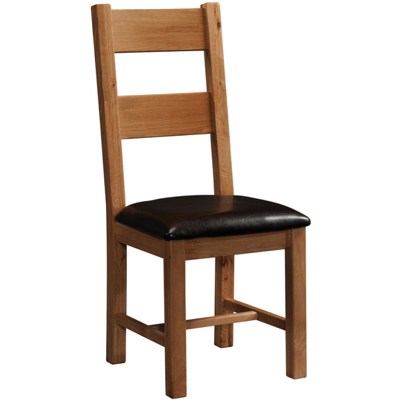Petersfield Oak Ladder Back Chair