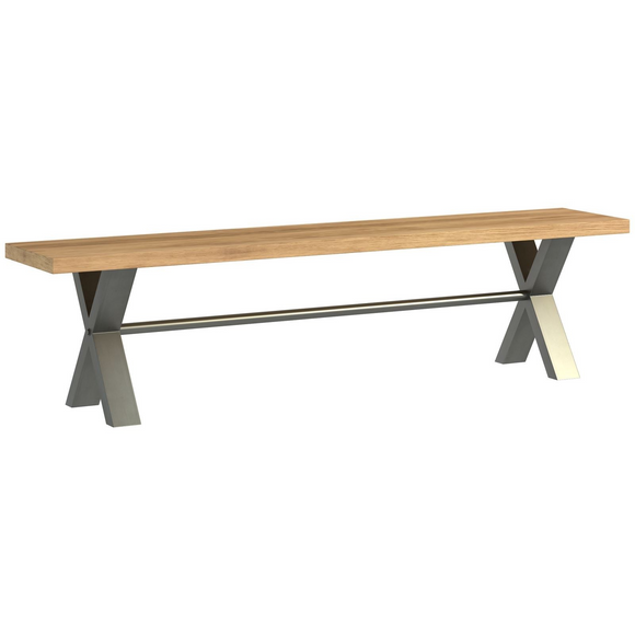 Foundry Oak Large Bench