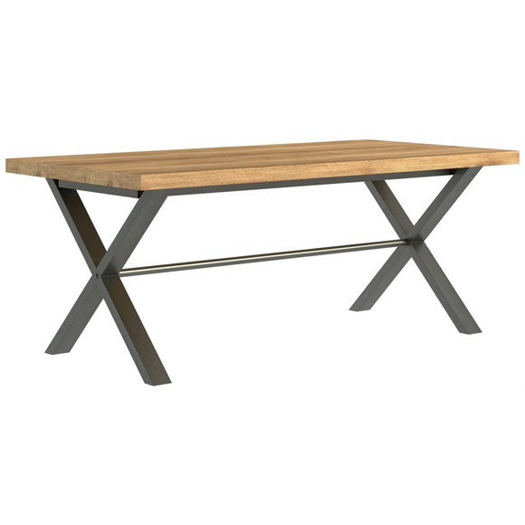 Foundry Oak Large Dining Table