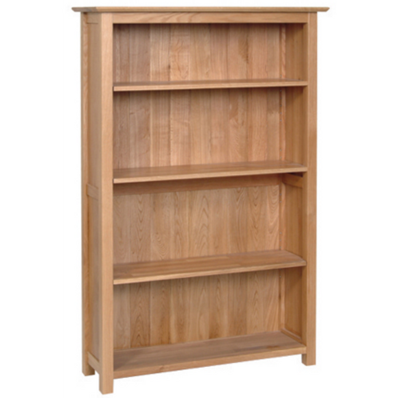Hampshire Oak 5' Bookcase