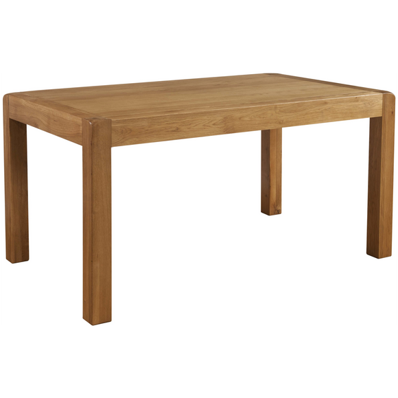 Sway Oak End Extending Table 140cm