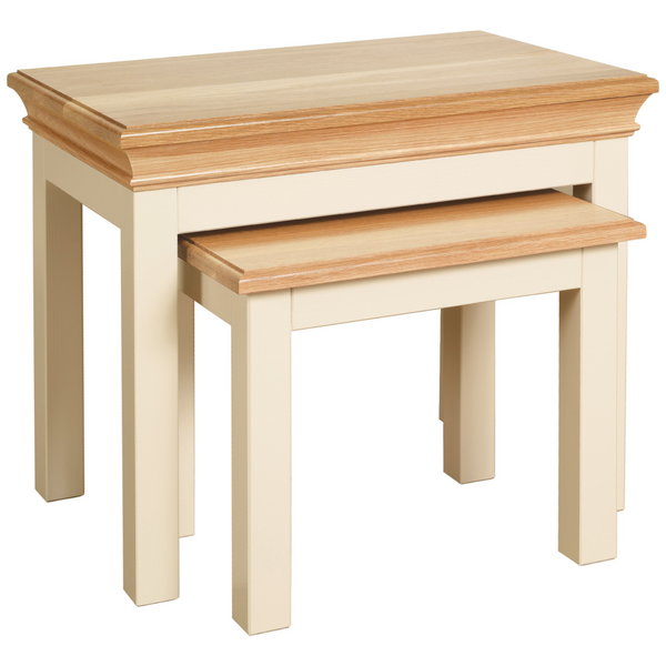 Eton Ivory Nest of Tables