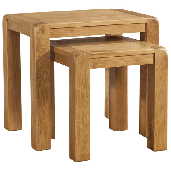 Sway Oak Nest Of Tables