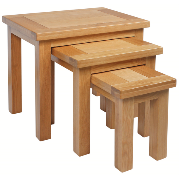 Oxford Oak Nest Of Tables
