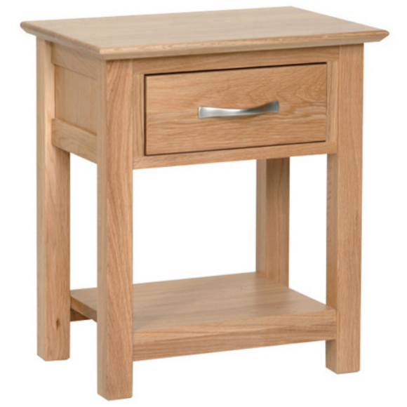 Hampshire Oak Bedside Night Stand