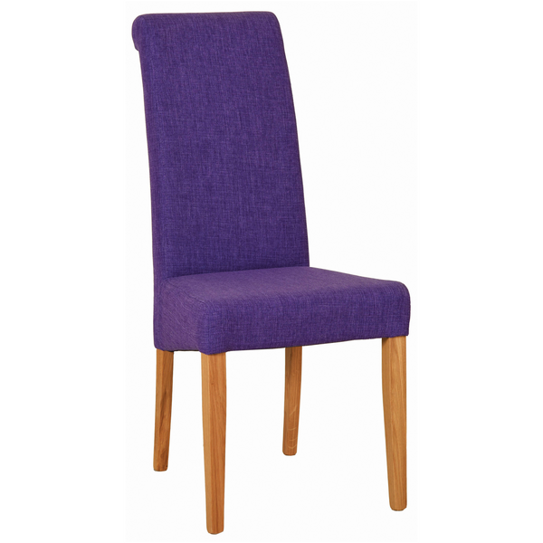 Purple Hampshire Fabric Chair