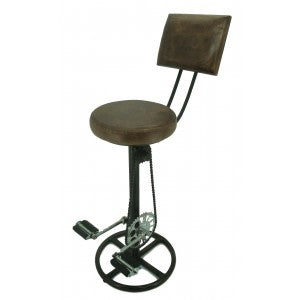Pedal Stool with Back