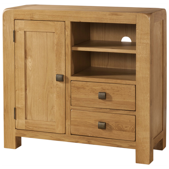 Sway Oak Media Unit Sideboard