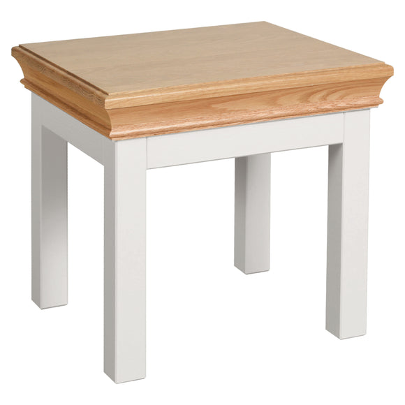 Eton White Side Table