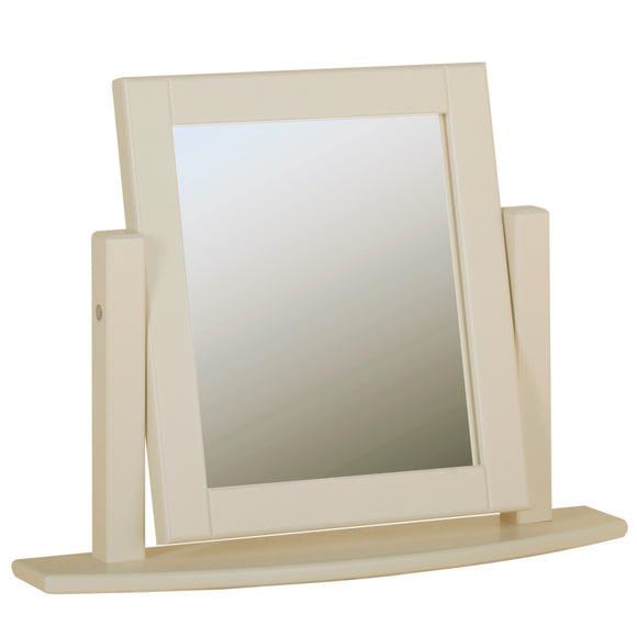 Eton Ivory Single Dressing Table Mirror