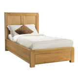 Sway Oak Bed with Drawers