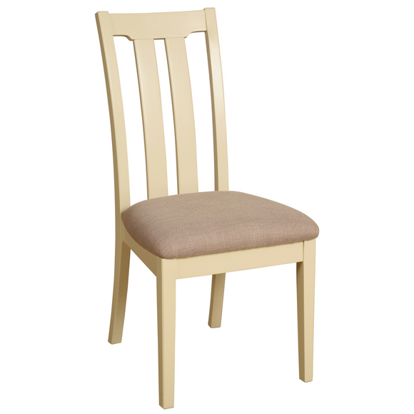 Eton Ivory Slat Back Dining Chair