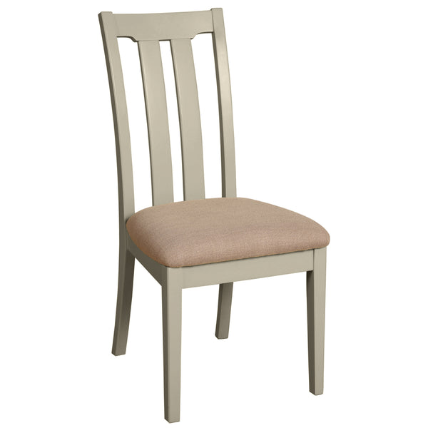 Eton Platinum Slat Back Dining Chair